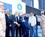الرئيس عبد الفتاح السيسي يؤدى صلاة العيد بمنتجع الماسة بالعلمين الجديدة – فيديو