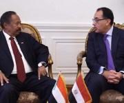 رئيس وزراء السودان بعد لقاء مدبولي: ننظر بإعجاب شديد لتجربة الإصلاح الاقتصادي في مصر