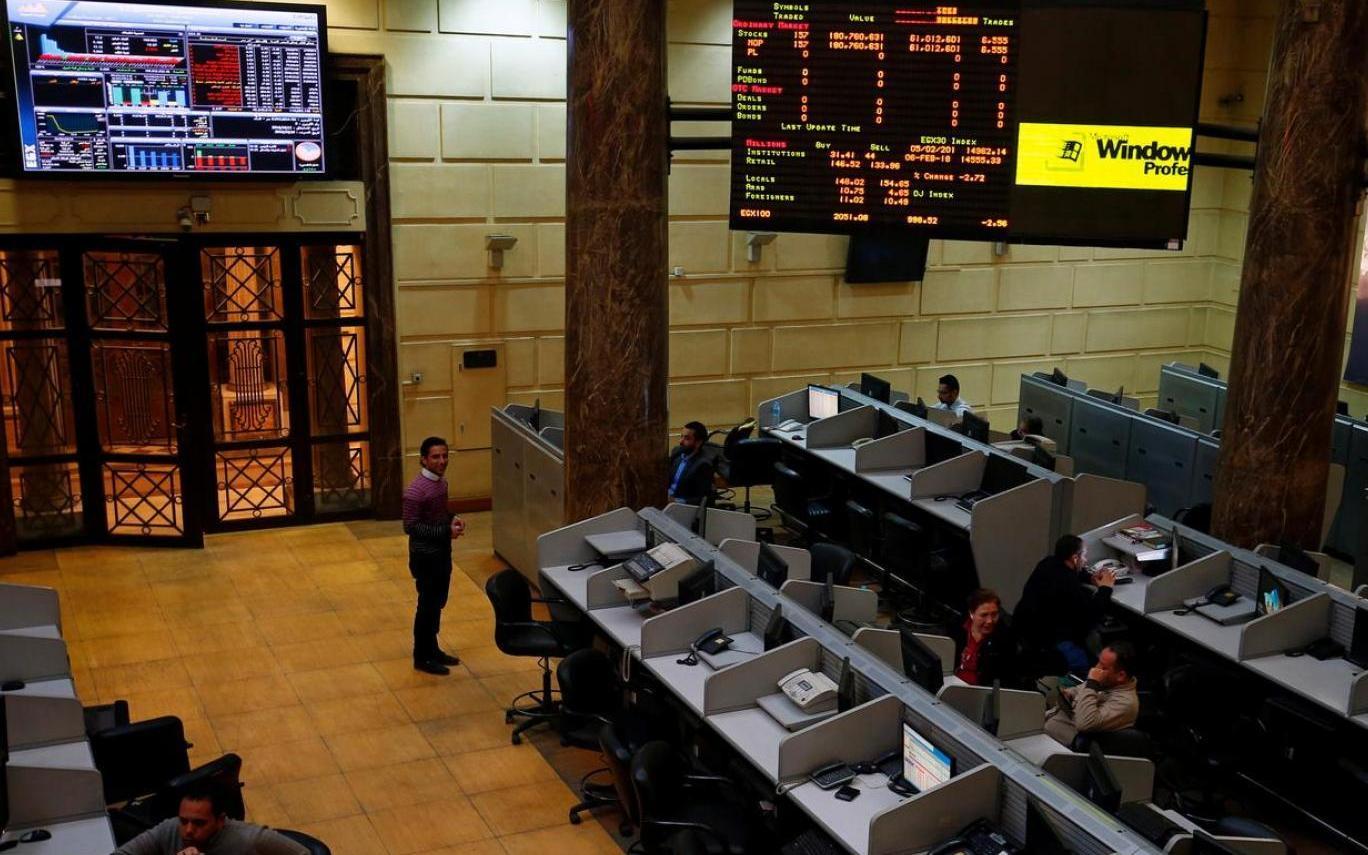 البورصة تهبط رغم قفزة التداولات إلى 4.4 مليار جنيه - جريدة المال