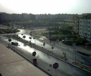 الموقف التنفيذي لرفع المخلفات ومواجهة الأمطار بمدينة 6 أكتوبر (انفوجراف)