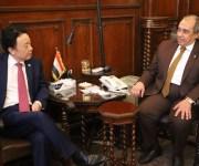 وزير الزراعة يبحث مع مدير الفاو تفعيل مبادرات القضاء على الفقر والجوع (صور)