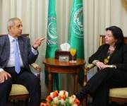 «الأكاديمية العربية» تبحث مع «الألمانية للتبادل العلمي» التعاون الثنائي