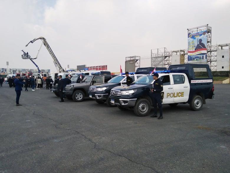 احتفالًا بعيدها.. الداخلية تنظم معرضًا لأحدث مركبات ومدرعات الشرطة (صور) - جريدة المال