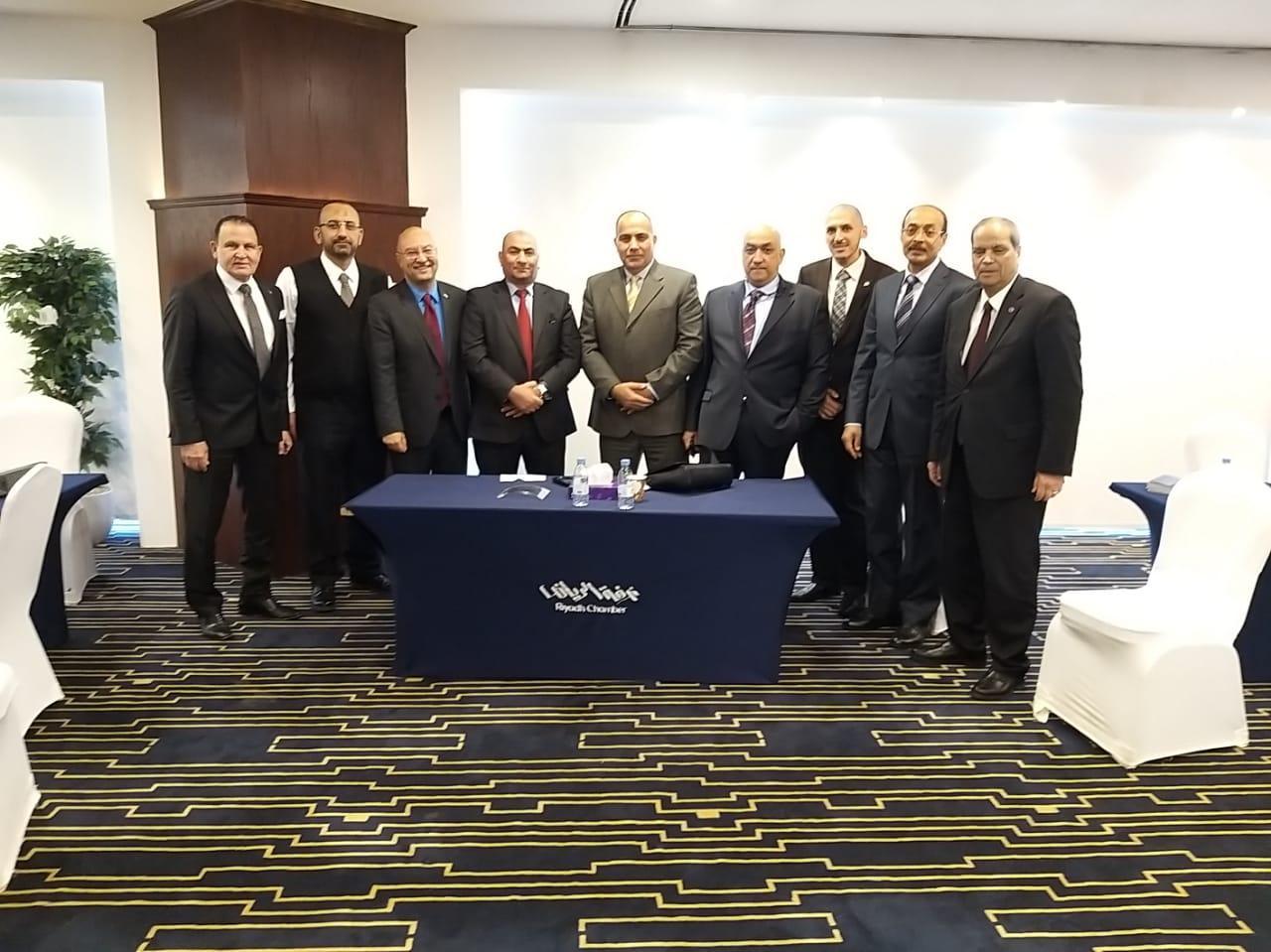 وفد جمعية رجال أعمال الإسكندرية يبحث الفرص الاستثمارية بالرياض - جريدة المال