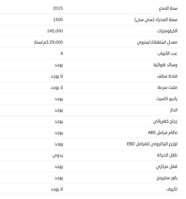 أسعار بي واي دي F3 مستعملة 2015