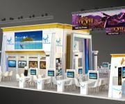 وزارة السياحة والآثار تشارك اليوم في معرض السفر الدولي «الفيتور»