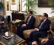 رئيس الوزراء يهنئشركة ونترشال ديا الألمانية على عقدها مع «إيجاس» للبحث عن البترول