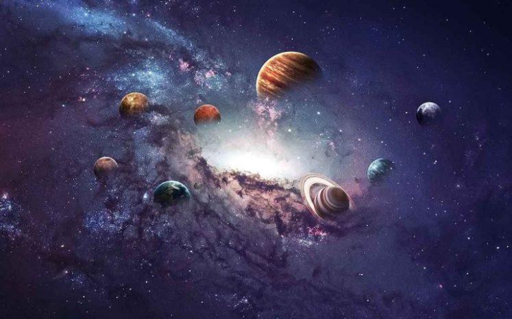 بحث فيزياء أول ثانوي عن حركة الكواكب والجاذبية