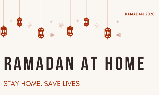 This Ramadan, stay home