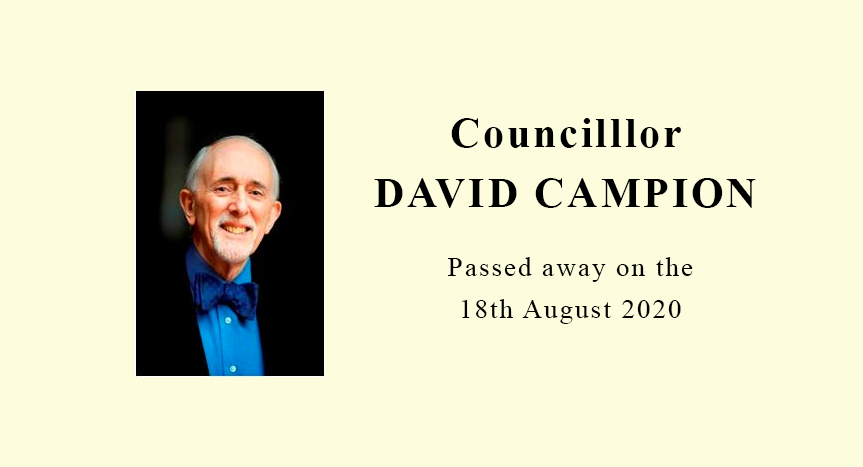 Former RBKC Mayor and Al-Manaar Trustee – CLLR David Campion passes away