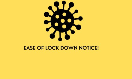 Ease of lock down notice!