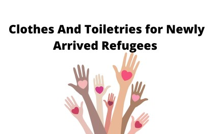 Clothes and Toiletries for Newly Arrived Refugees