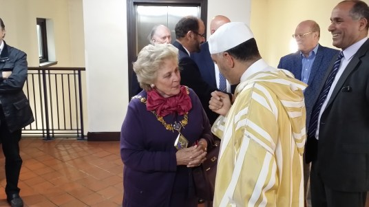 The Mayor and Br. Sadeq