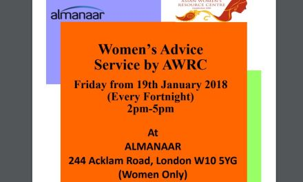 Women's Advice Service by AWRC