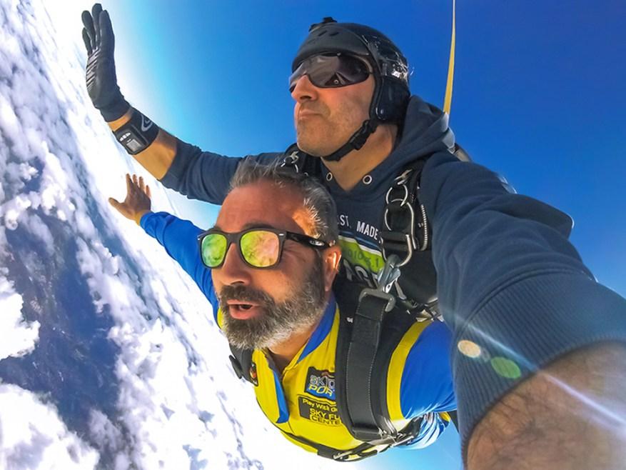 Salto paracaidas skydive regalo padres aventureros