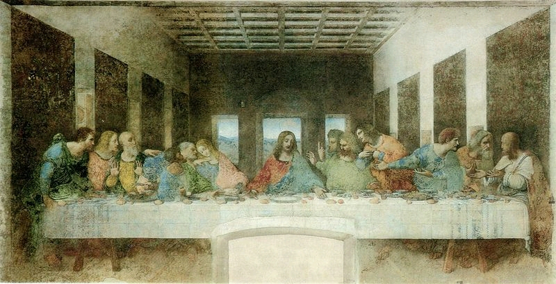 The  Last Supper, Leonardo da Vinci, 1498