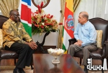Namibia to focus relations with Seychelles in fishing and tourism: new High Commissioner