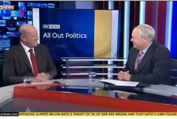 Alain St.Ange LIVE interview with Adam Boulton in his All About Politics show