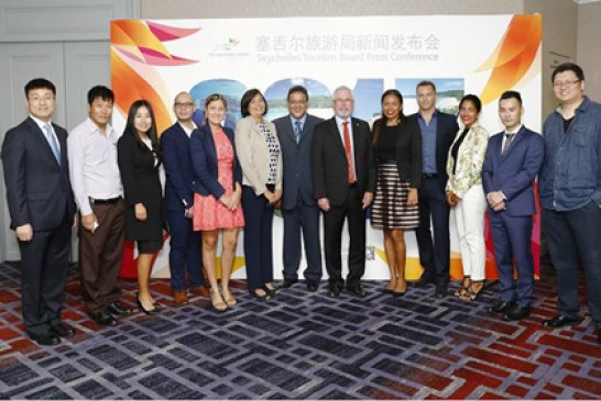 Seychelles Tourism Board launches new marketing campaign in China
