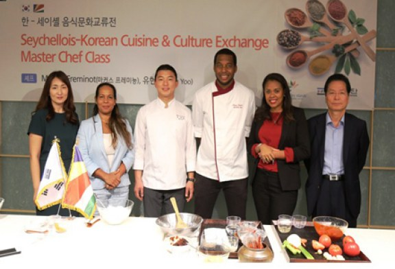Seychellois chef joins the Seychelles Tourism Board to promote Creole food in South Korea