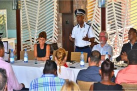 Seychelles' tourism minister hears the concerns of tourism stakeholders on Praslin, pledges immediate actions to tackle crimes against visitors