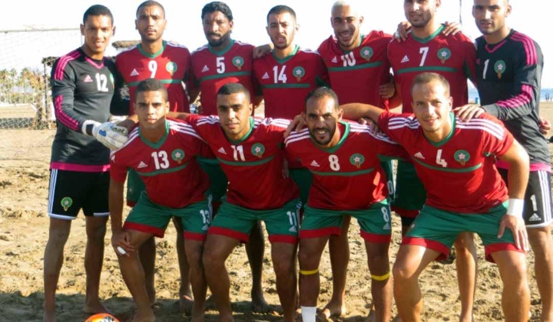 منتخب الكرة الشاطئية يتأهل لنصف النهائي كأس إفريقيا