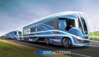 شاهد شاحنات و حافلات المستقبل الذكية
