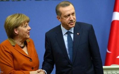 أردوغان لميركل: أنا مسلم و أرفض عبارة الإرهاب الإسلامي