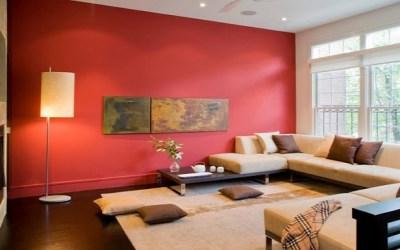 طرق استخدام اللون الأحمر في ديكور منزلك