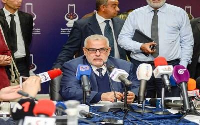 بنكيران: مساندة الحكومة ستكون من خلال التوجيه و النقد