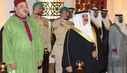 عاهل البحرين يعرب عن اعتزازه بدور  الملك في ترسيخ العلاقات بين البلدين