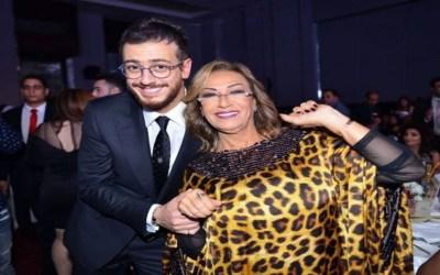 نزهة الركراكي تستلم جائزة أغنية عربية نيابة عن سعد لمجرد