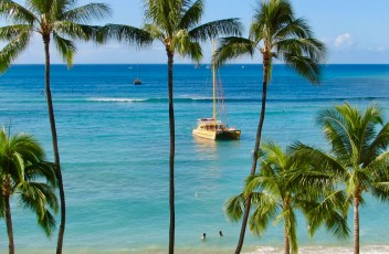 summer time resortwear destination Waikiki Beach
