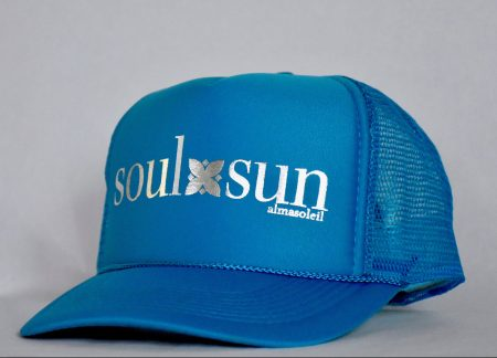 SoulxSun Silver on Turquoise hat