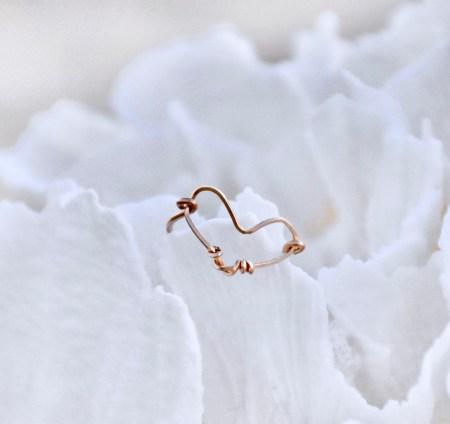Gold Heart Ring III