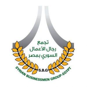 Syrian businessmen in Egypt logo