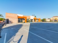 Commercial Retail Building with Parking Lot