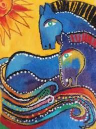 картина в Алматы, войлок в Алматы, купить войлок, необычный подарок, ярмарка в Алматы, войлочный кот, войлочный конь, цветы из войлока, панно
