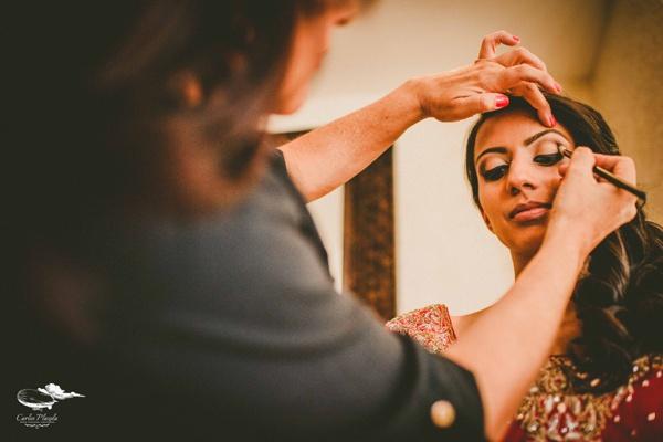 Alma Vallejo Hindu Make Up For Jyoti S Dream Destination