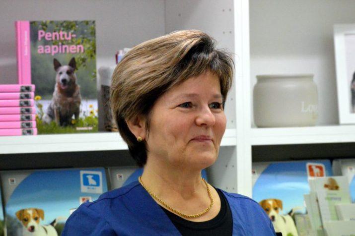 Arja Järvelin hoitaa eläimiä tunteella ja sydämellä.
