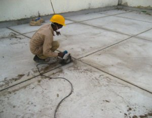 CONSTRUCTION JOINT TREATMENT WORK