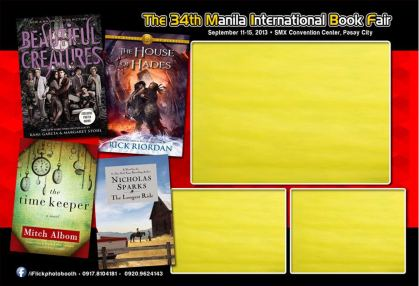 Sample OPRAP photobooth MIBF commemorative photo layout