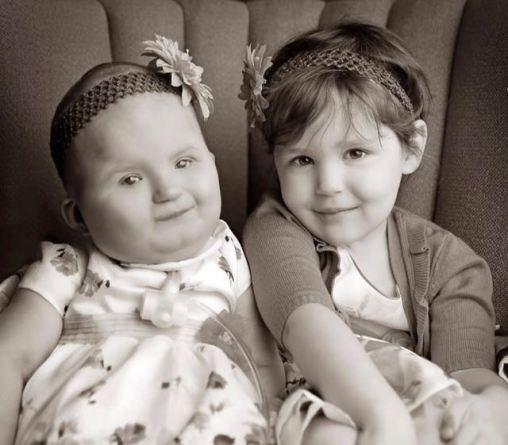 Lillian and big sister, Lorelei