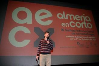 111207 X festival almeria en corto Oscar