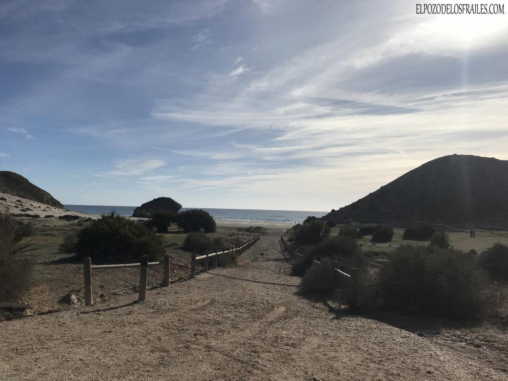 Acceso Playa Monsul