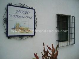 Entrada museo en Bodega Cortijo El Cura