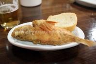 Pollico frito en Taberna Sacromonte