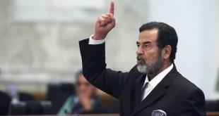 رسائل بخط صدام حسين داخل السجن