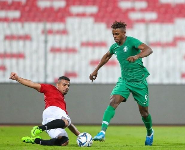مباراة سابقة بين اليمن والسعودية