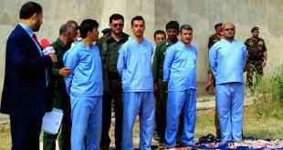 لحظة إعدام قتلة عبدالله الأغبري بصنعاء
